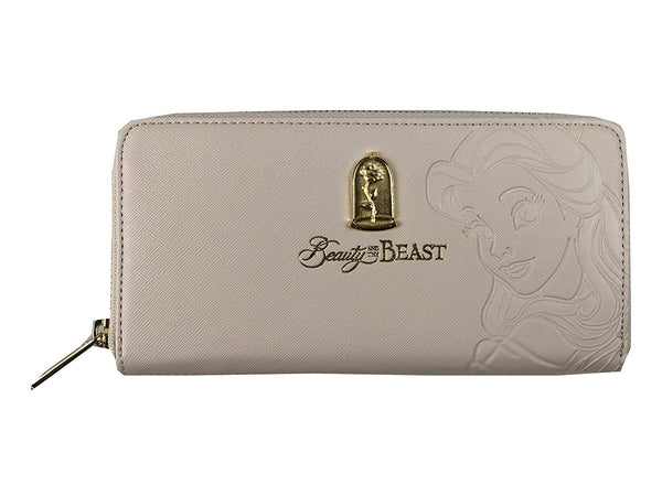 Loungefly x Beauty and the Beast Belle Embossed Charm Wallet