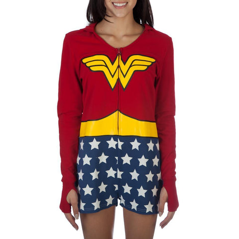 DC Comics Wonder Woman Juniors Cosplay Romper