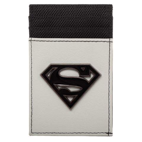 Superman Wallet Front Pocket Wallet Superman Accessory - DC Comics Wallet Superman Gift