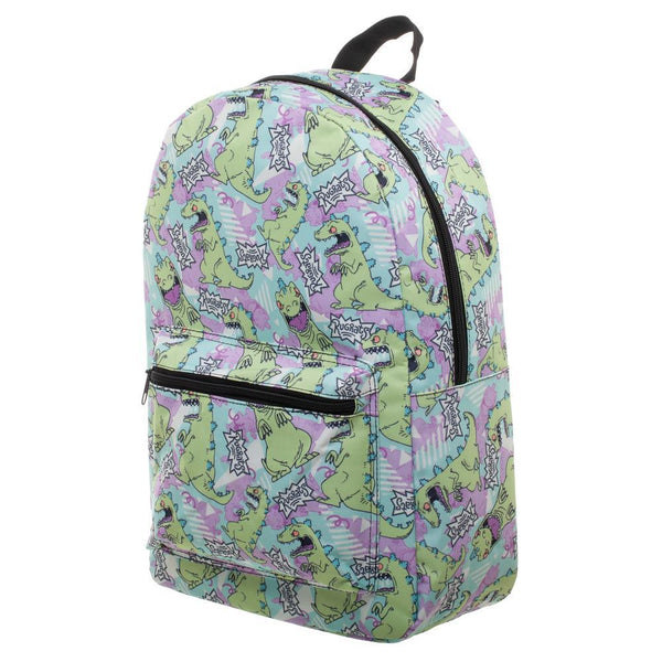 Rugrats Reptar Backpack 90s Bags - Rugrats Backpack 90s Fashion SUblimation Backpack