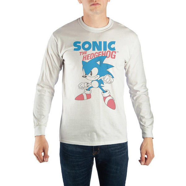 Sonic The Hedgehog Classic Long-Sleeve T-Shirt