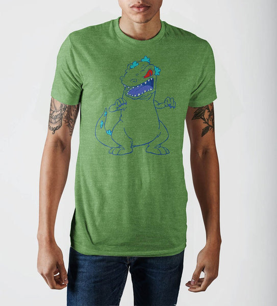 Rugrats Reptar Shamrock Heather T-Shirt