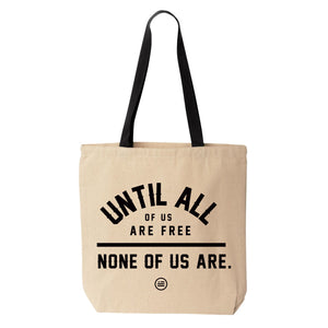 "A&C: ""NONE OF US"" -  Tote"