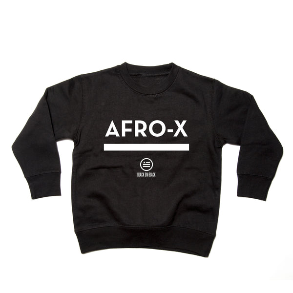 """Afro-X"" - Kids Sweatshirt"