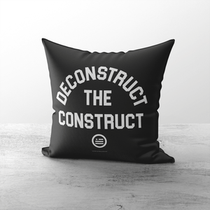 """Deconstruct The Construct"" Throw Pillows"