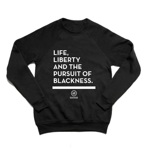 """Liberty"" - Unisex Sweatshirt Black"