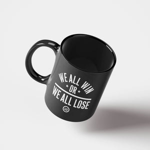 """We All Win"" Mug Black"