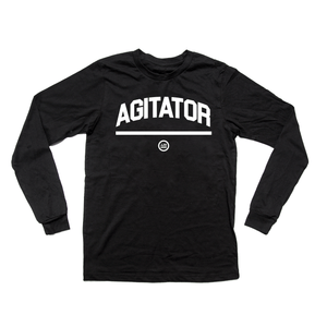 """AGITATOR"" - Unisex Long-Sleeved  T"