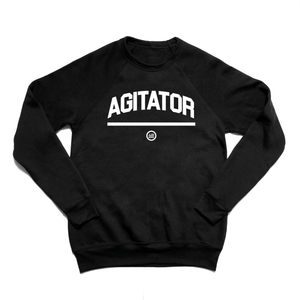 """AGITATOR"" - Unisex Sweatshirt Black"