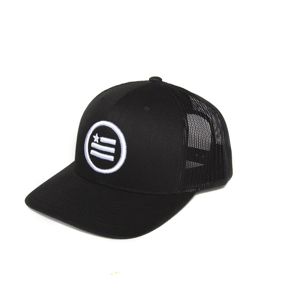 """The Stack"" - Trucker Snapback (White Logo)"