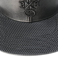 "Load image into Gallery viewer, ""BXB CRWN"" Leather Cubic Snapback"