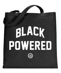 """Energy I Be On AKA Black Powered"" Tote"