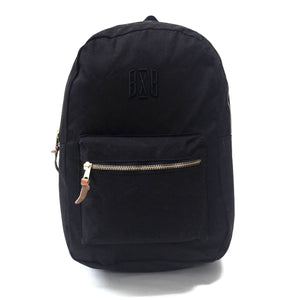 "Black On Black Backpack - ""BXB"""