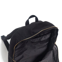 "Load image into Gallery viewer, Black On Black Backpack - ""The Stack"""
