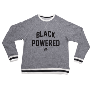 """Energy I Be On"" - Unisex Peppered Crewneck Sweatshirt (LIMTED EDITION)"