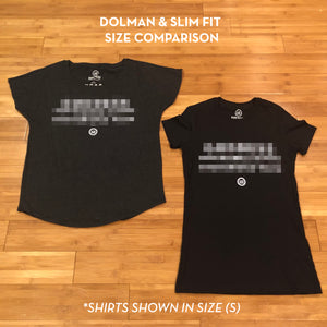 """GWIMW"" Slim Fit Tee - Black"