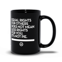 "Load image into Gallery viewer, ""Not Pie®"" Mug Black"