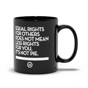 """Not Pie®"" Mug Black"