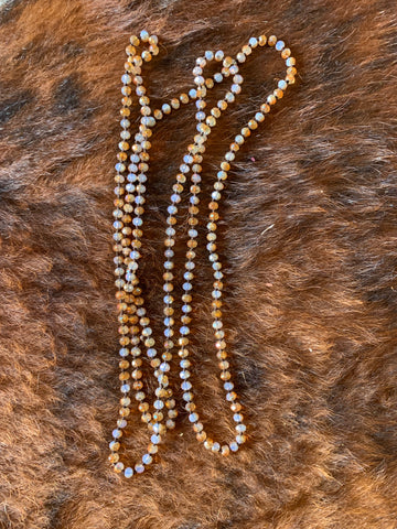8mm Long Bead Necklace