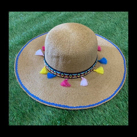 Tassel Floppy Hat