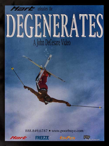 Degenerates - Classic Poor Boyz Productions Movie Poster