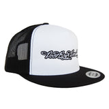 Poor Boyz Productions Trucker Mesh Snapback with embroidered classic logo
