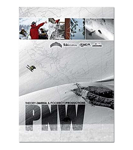 PNW (Pacific North West) Ski DVD Front Cover, 730475830238, Poor Boyz Productions