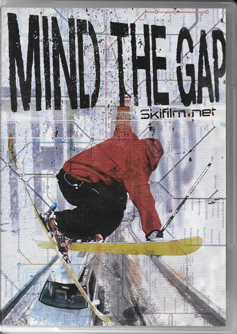 Mind The Gap Ski DVD, Front Cover, Poor Boyz Productions