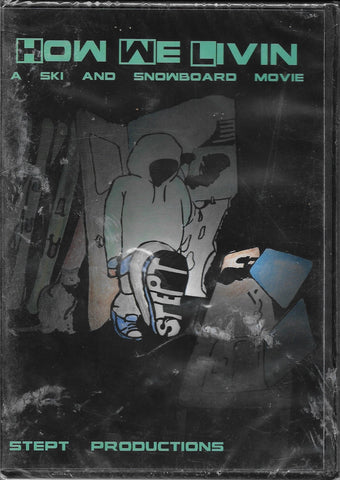 How We Livin - Ski Movie - DVD