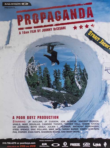 Propaganda Movie Poster - Poor Boyz Productions