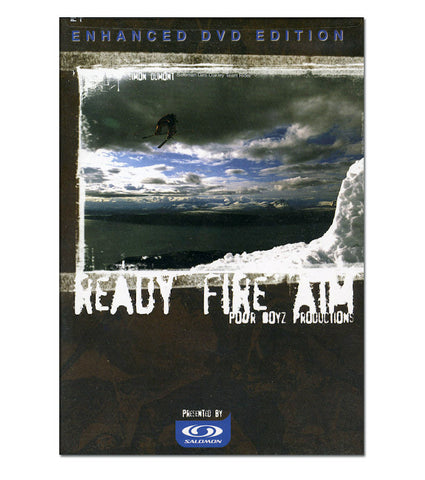 Ready Fire Aim Ski DVD, 730475833468, Poor Boyz Productions