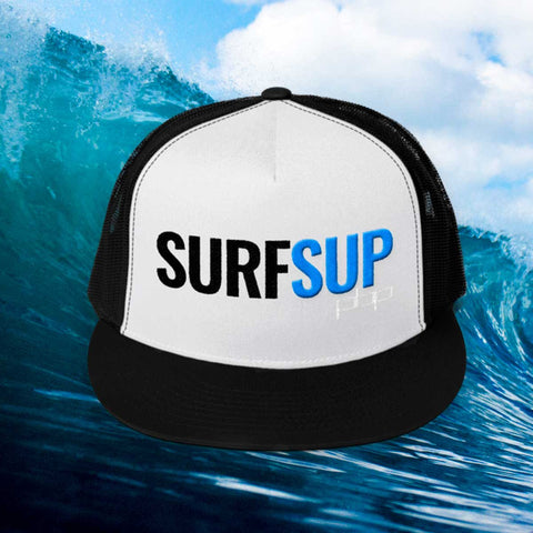 SURF SUP 3D embroidered trucker Mesh Snapback