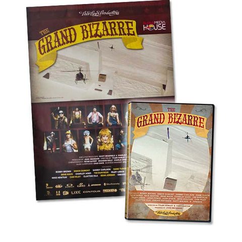 The Grand Bizarre - Movie + Poster Combo Pack