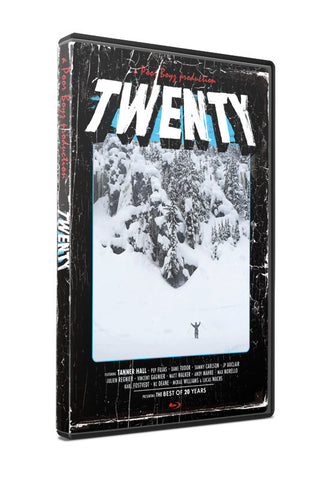 Twenty - Ski Movie - DVD and Blu Ray Combo Pack