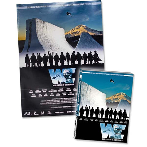 WE: A Collection of Individuals Deluxe Edition - DVD + Blu-Ray + Movie Poster Combo Pack