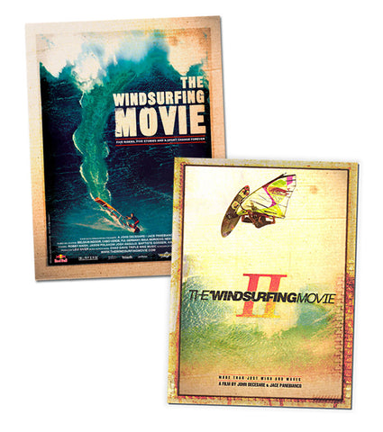 The Windsurfing Movie I & II DVD Combo
