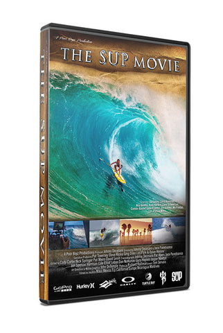 The SUP Movie - Stand-Up Paddleboarding - DVD and Blu Ray