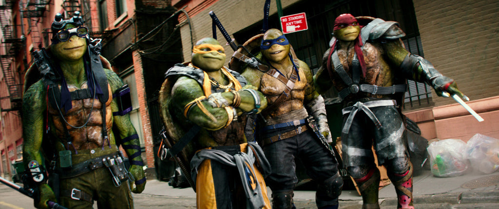 Teenage Mutant Nija Turtles out of the Shadows and back in our collective consciousness!