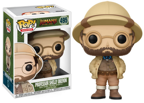Pop! Movies Jumanji Welcome to the Jungle: Professor Shelly Oberon