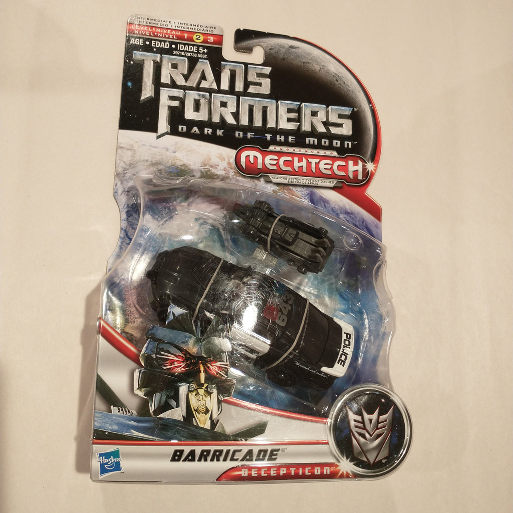 Transformers Dark of the Moon Mechtech Barricade