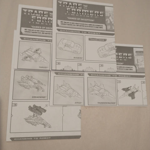 Transformers Games of Deception (BOTCON 2007)