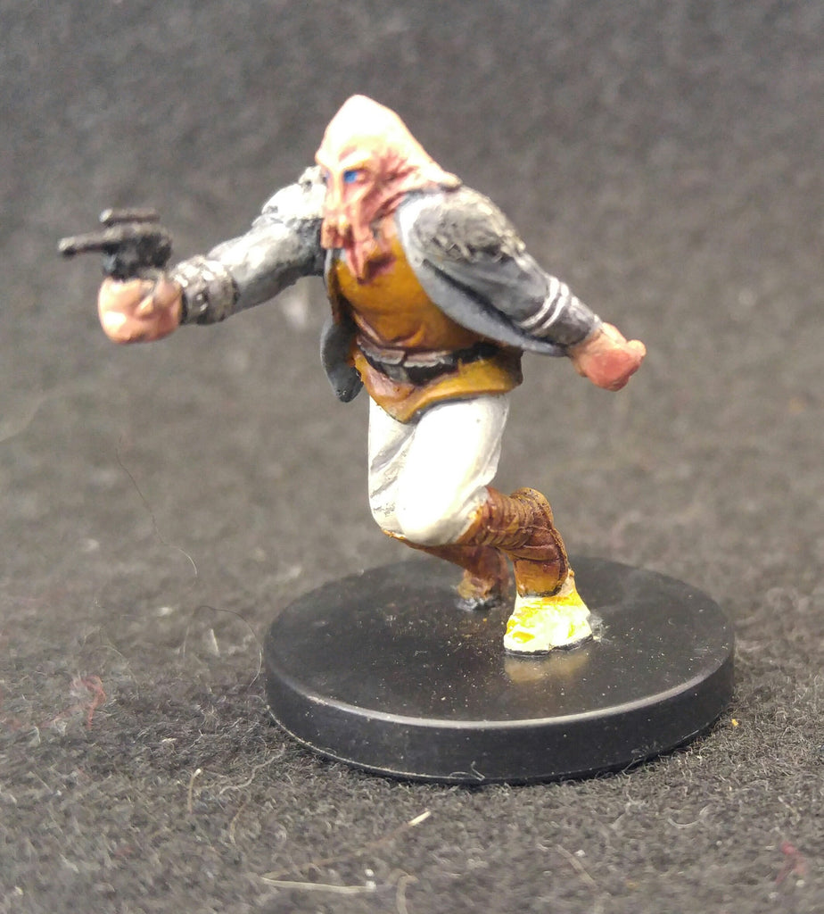 Star Wars Miniatures-56/60 Fringe 13 Quarren Raider