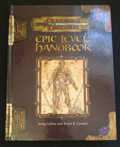 Dungeons & Dragons, 3rd Edition, Epic Level Handbook