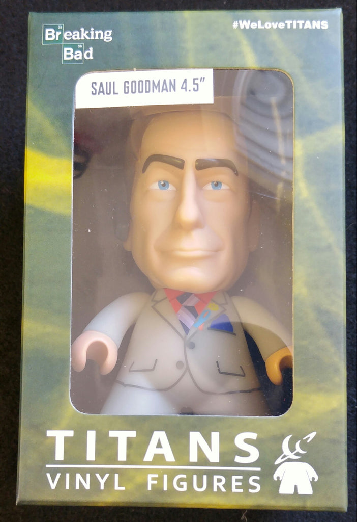 "Breaking Bad, Titans Vinyl Figure, Saul Goodman 4.5"", NERD BLOCK EXCLUSIVE"