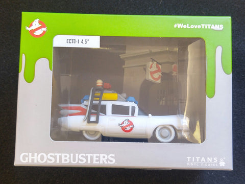 "Ghostbusters, Titans Vinyl Figure, ECTO-1 4.5"" - NERD BLOCK EXCLUSIVE"