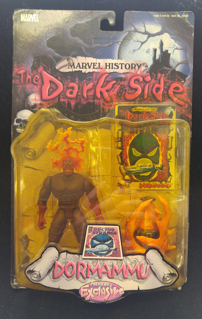 Marvel History, The Dark Side, Dormammu, Previews Exclusive