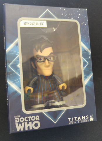 "Dr. Who, Titans vinyl Figure, 10th Doctor 4.5"" - NERD BLOCK EXCLUSIVE"