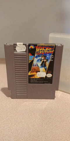 NES Game Cartridge Back to the Future
