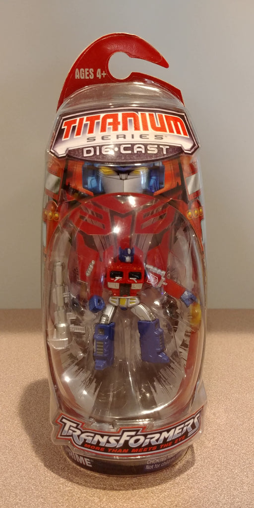 Transformers Titanium Series Diecast Optimus Prime