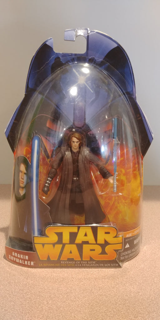 Star Wars Revenge Of The Sith Anakin Skywalker Darth Vader 3 75 Act Silver Screen Toys And Collectibles